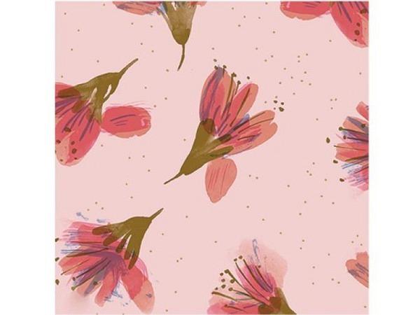 Geschenkpapier PaperPoetry Kirchblüten rosa 70cmx2m