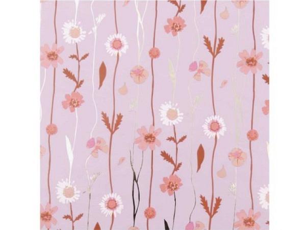 Geschenkpapier PaperPoetry Blumenranken Flieder 70cmx2m