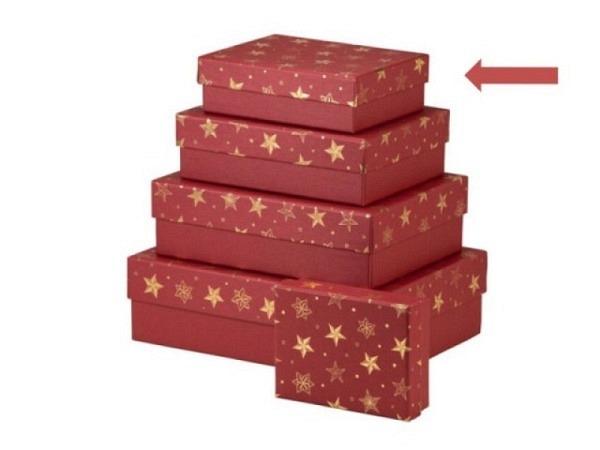 Geschenkschachtel Rössler Espana Saragossa 19,5x26,5cm, 8cm hoch