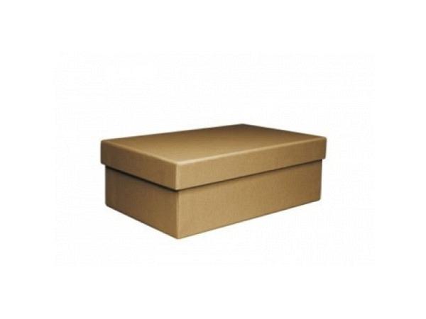 Geschenkschachtel Artoz Pure Box rechteckig M Green Line grocer kraft