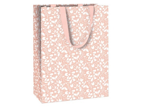 Geschenksack Stewo Delinda rosa 25x13x33cm