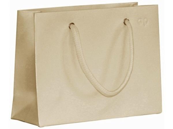 Geschenksack Artoz Greenline Pure Shopper L birch