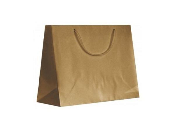 Geschenksack Artoz Greenline Pure Shopper L grocer kraft
