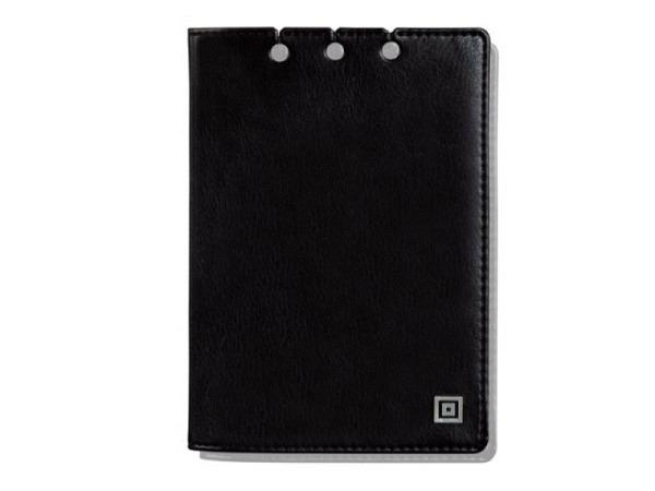 Agendahülle Time System Ledereinband schwarz für Taschenkalender