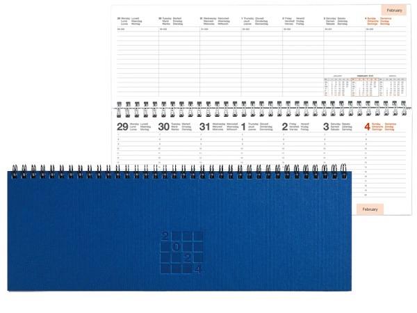 Agenda Letts Flexi Pattern Mix Ditsy Floral A5 black 7 Tage auf 2 Seiten