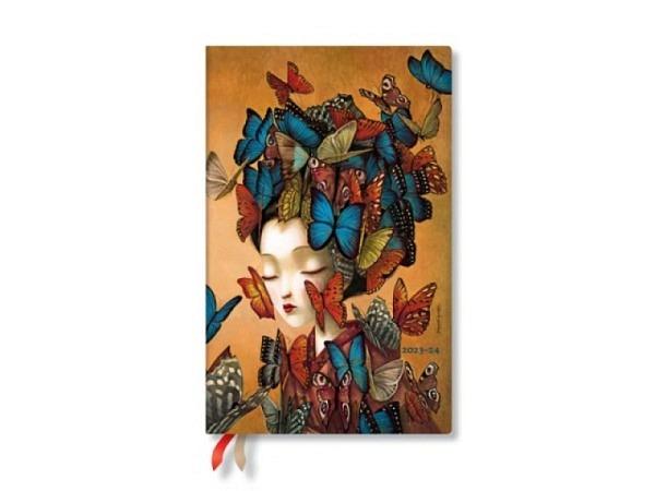 Agenda Paperblanks Sommer Maxi Flexi Lehmrost, 7 Tage auf 2 Seiten