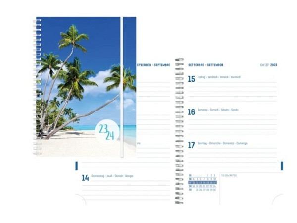 Agenda Simplex Sommer Emotions Weekly A5 Beach