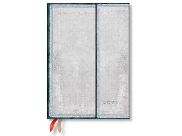 Agenda Paperblanks Midi Metauro, 7 Tage auf 2 Seiten