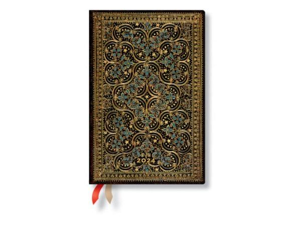 Agenda Paperblanks Mini 9,5x14cm Blühende Poesie, 7 Tage auf 2 Seiten