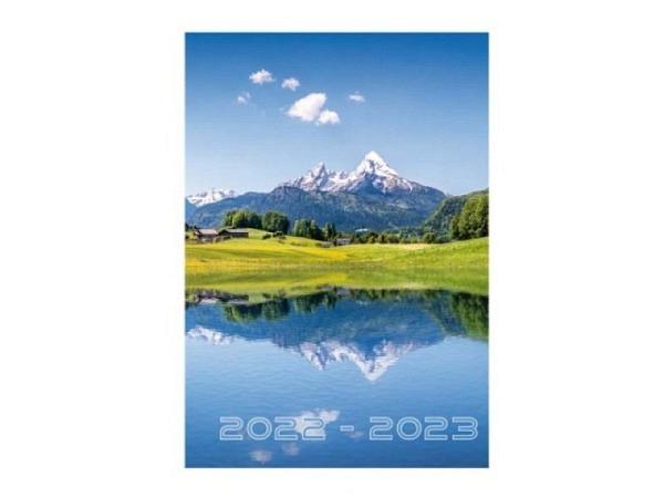 Agenda Techo Sommer A5 Nature 7 Tage auf 2 Seiten