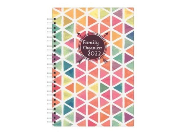 Agenda Biella Family Organizer A5 14,5x20,6cm 7Tage auf 2Seiten