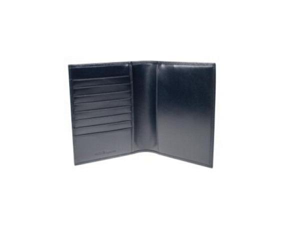Agendahülle Daily Biella Glasgow blau 10x14cm, Leder