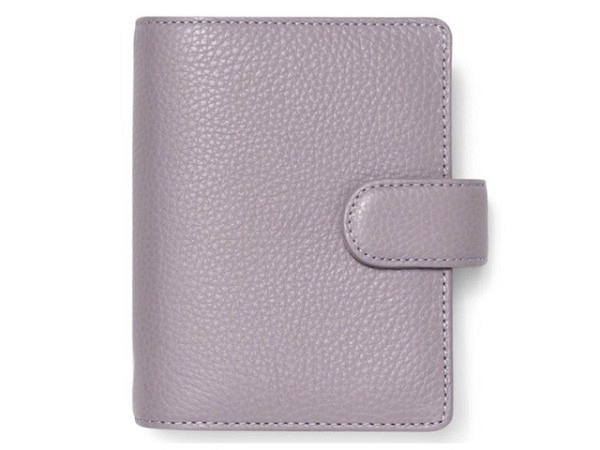 Ringbuch Filofax Pocket Domino Luxe rot