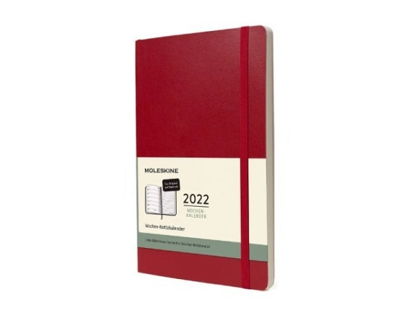Agenda Moleskine Sommer Hardcover Pocket 7 Tage auf 1 Seite A6 Reifes Gelb