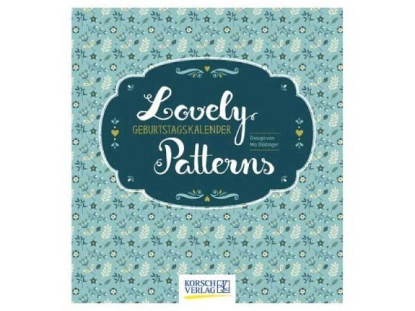 Geburtstagskalender Korsch Lovely Patterns