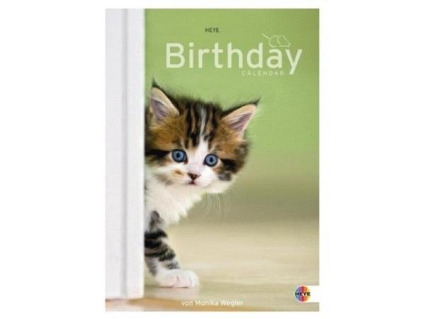 Geburtstagskalender Heye A4, immerwährender Kalender