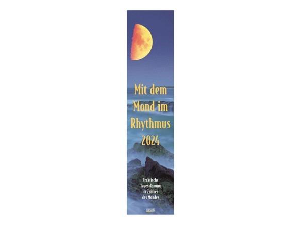 Kalender Mit dem Mond im Rythmus 11x48cm