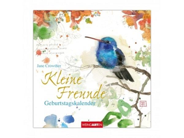 Geburtstagskalender Weingarten Kleine Freunde 20x20cm