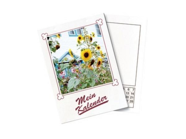 Bastelkalender Folia Mein Kalender weiss A4 21x29,7cm