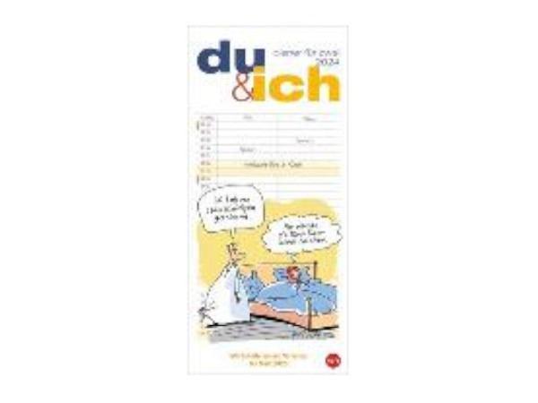 Familienplaner Heye Du & Ich Planer für zwei 16x34,7cm