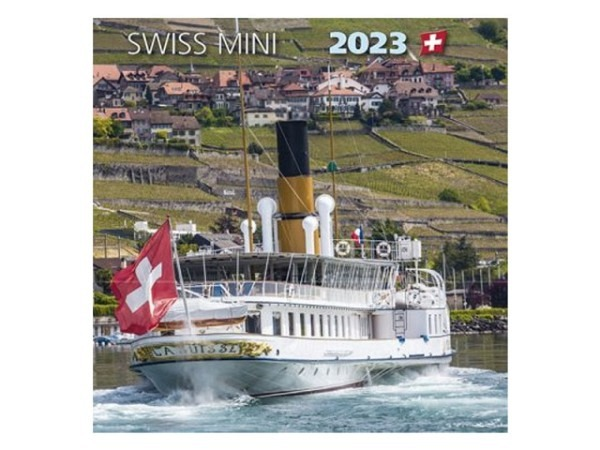 Kalender Swiss Mini 15x15cm