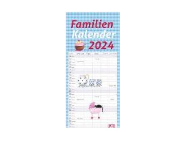 Familienplaner Heye Familienkalender 21x45cm