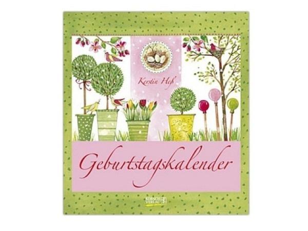 Geburtstagskalender Korsch Hess Kerstin, 22,5x24,5cm
