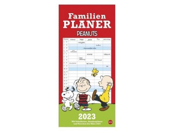 Familienplaner Heye Peanuts 21x45cm mit 5 Kolonnen