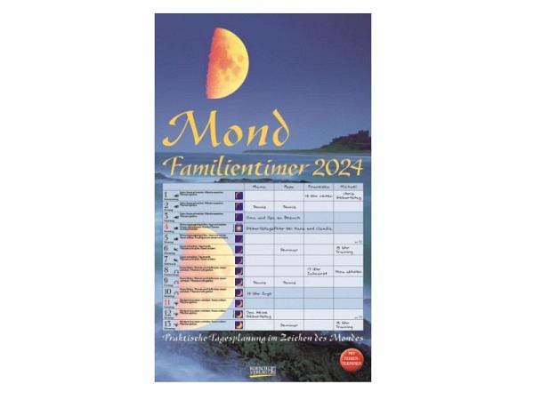 Familienplaner Korsch Mond 27x48cm