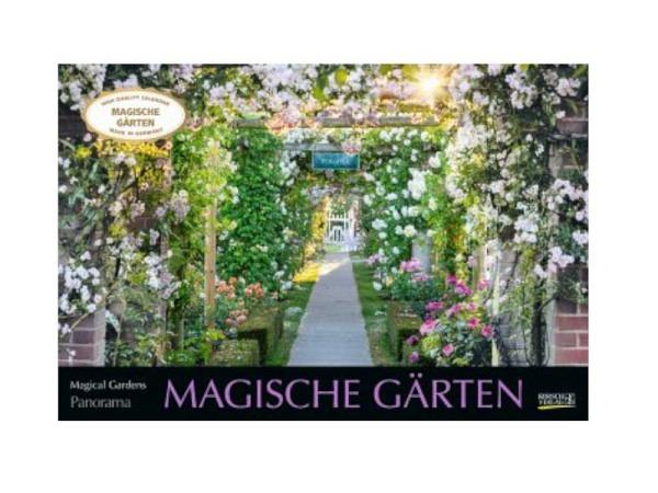 Kalender Magische Gärten 58x39cm