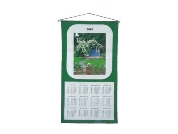 Stoffkalender Sommerhaus 35x65cm