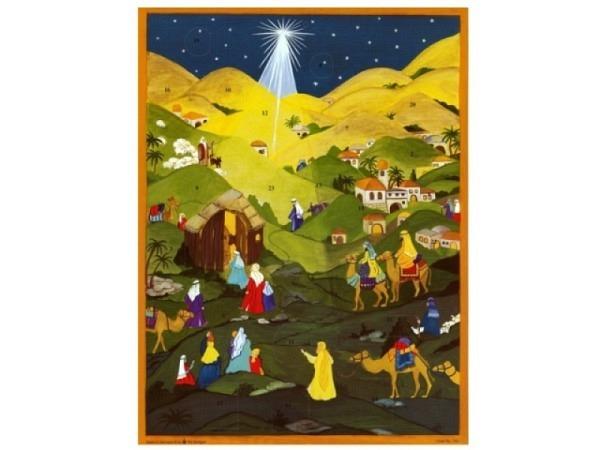 Adventskalender Sellmer  in den Hügeln von Bethlehem