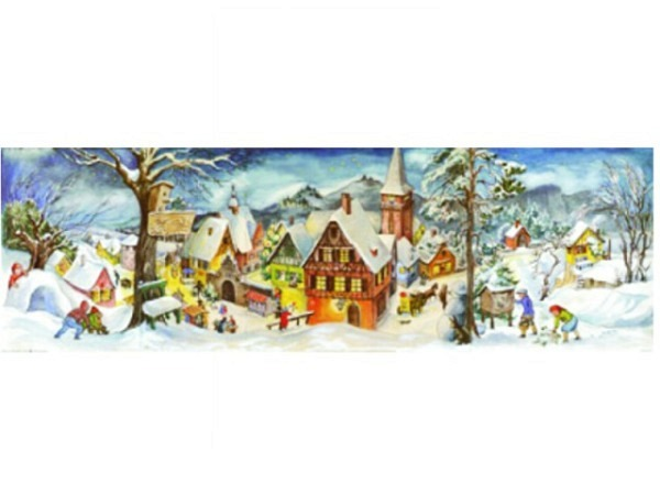 Adventskalender Sellmer Nr.265 Winterdorf