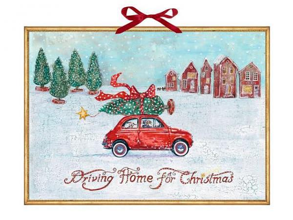 Adventskalender Coppenrath Driving Home for Christmas 52x38cm