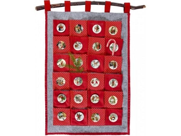 Adventskalender Coppenrath Adventszeit Stoffkalender 44x63cm
