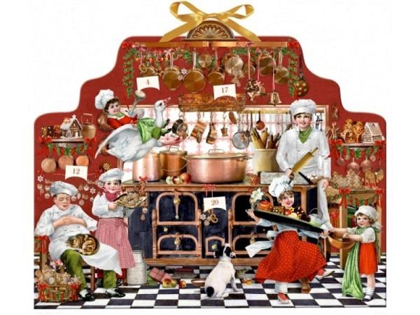 Adventskalender Coppenrath Leckeres vom Küchenherd 52x43cm
