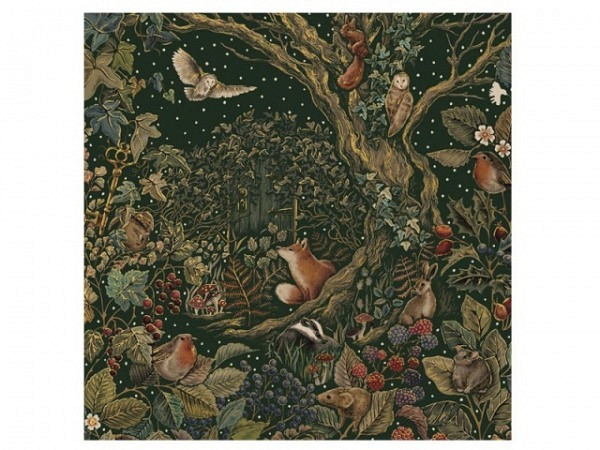 Adventskalender Sara Miller Advent Calendar Wald 38,8x29,7cm