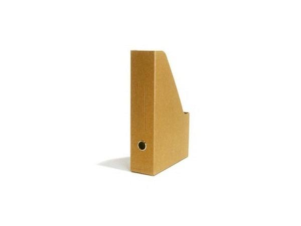 Zeitschriftenbox Schwartz Kraftpapier für A4