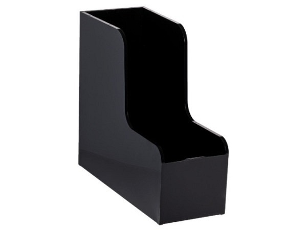 Zeitschriftenbox Palaset Maxi schwarz glanz extra gross