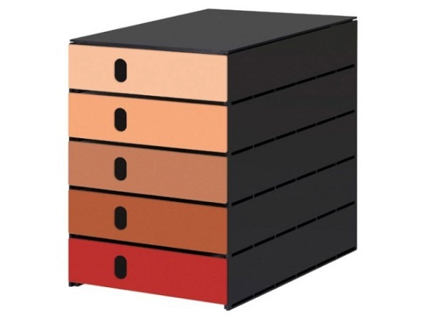 Büroset Lego Storage Drawer Brick 4 blau