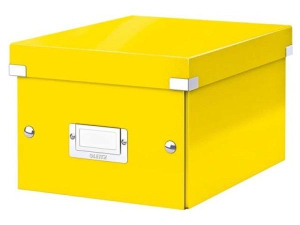 Ablagebox Leitz Click & Store A5 gelb