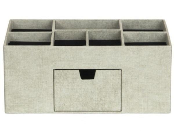 Bürobutler Bigso Box Leinenbezug Vendela Linen Nature