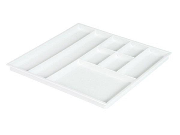Materialschale Styro grau 278x278mm 8 Unterteilungen