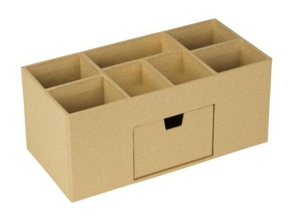 Bürobutler Bigso Box Papierbezug Vendela Mustard senfgelb