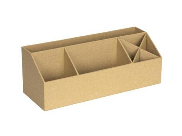 Bürobutler Bigso Box Papierbezug Elisa Mustard senfgelb