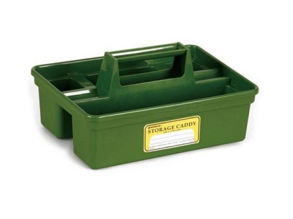 Pultschale Storage Caddy Stiftschale 45x17x8cm, grün aus Kunststoff