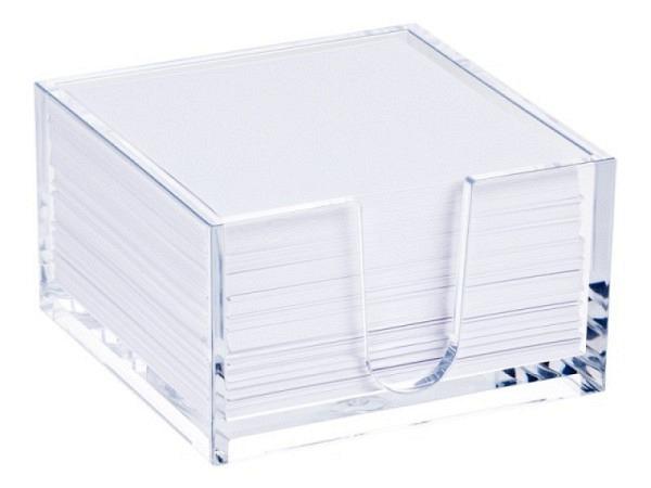 Zettelkasten Palaset Kunststoff transparent farblos