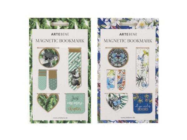 Briefbeschwerer Artebene Herzform mit Goldstreifen und Herzen