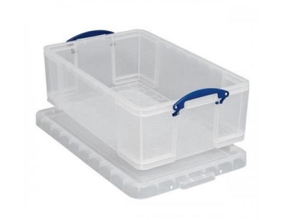 Box Really Usefull transparent Ordnungsbox 50Liter