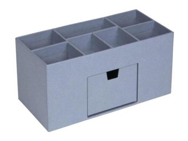 Bürobutler Bigso Box Papierbezug Vendela Dusty Blau